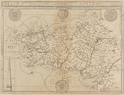 LECLERC, J. Description du Pays Armorique,...
