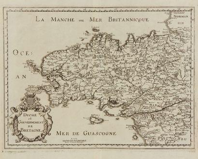 MERIAN, M. Duché et gouvernement de Bretagne....