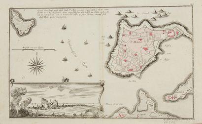 RASPE, G.N. Saint-Malo. Nuremberg, ca. 1765....