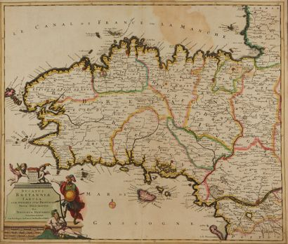 DANCKERTS, T. Ducatus Britanniae Tabula....