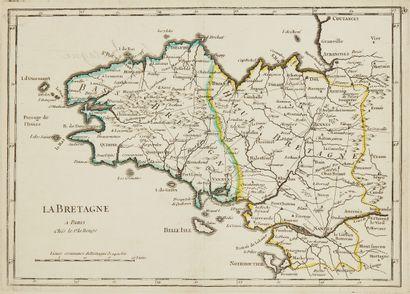 LEROUGE, G. L. La Bretagne. Paris, 1748....