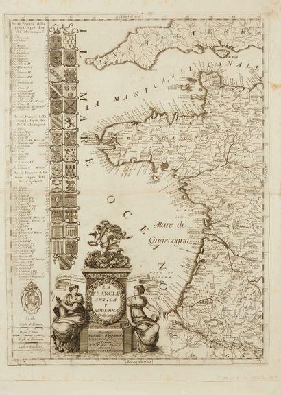 CORONELLI, V. M. La Francia Antica, e Moderna...