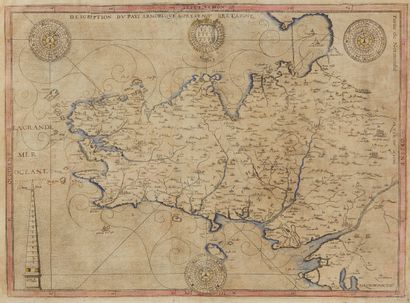 ARGENTRÉ (Bertrand d'). Description du Pays...