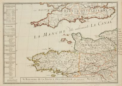 DU VAL, P. Le royaume de la France occidentale...