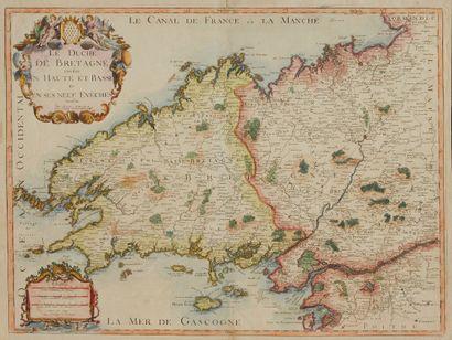 CRÉPY, Etienne-Louis. Le Duché de Bretagne...