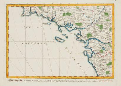 CASSINI DE THURY, C .F. Partie Méridionale...