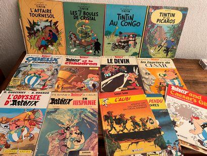 Lot de Bandes dessinées :  - Tintin et l'Affaire...
