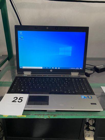1 ORDINATEUR PORTABLE HP ELITEBOOK 8540 ...