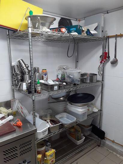 Batterie de cuisine et divers