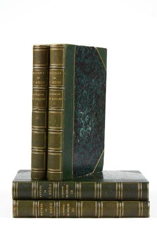 * HUGO (Victor). La légende des siècles. Paris, Lévy, 1859-1877, xvii- 272 pp. -...