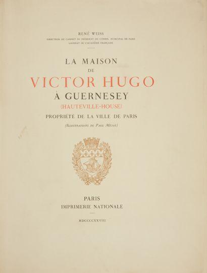 * WEISS. La maison de Victor Hugo à Guernesey...