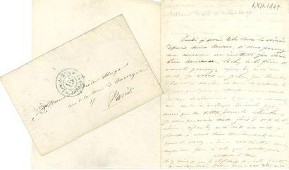* Léonie d'Aunet, Mme BIARD (1820-1879)...