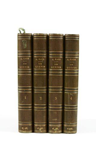 * KARR (A.). Les guêpes. Paris, Lecou, 1853,...