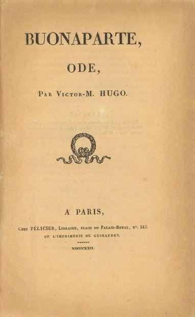* HUGO (Victor). Buonaparte, ode (Paris,...