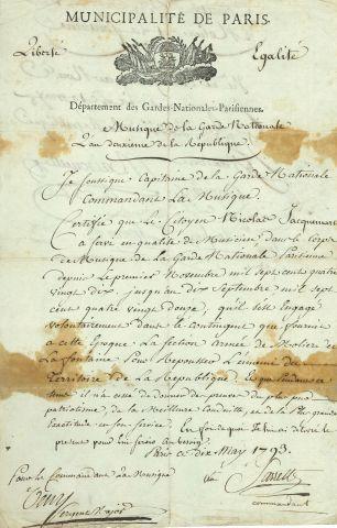 * Bernard SARRETTE (1765-1858) le fondateur...