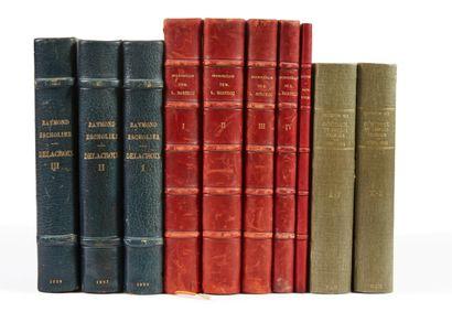 * BARTHOU. Bibliothèque de M. Louis Barthou....
