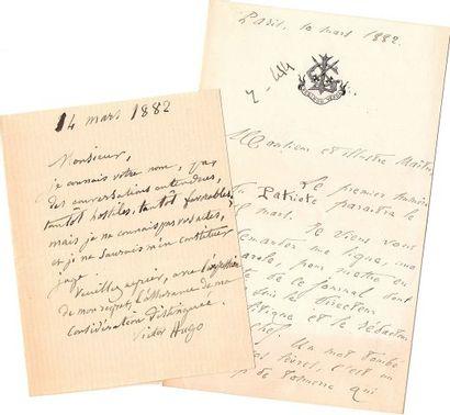 * Juliette DROUET (1806-1883). Copie autographe...