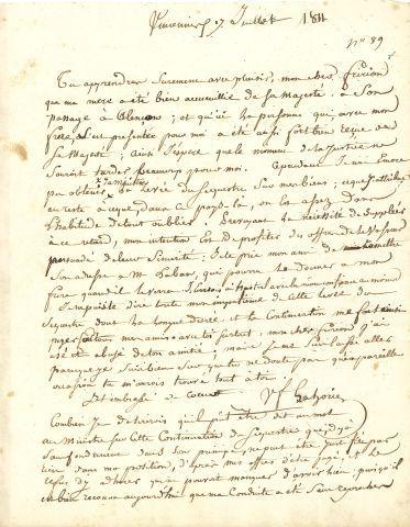 * Victor Claude Fanneau de LAHORIE (1766-1812)...