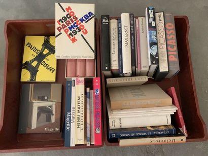 * Ensemble de livres sur les Beaux Arts dont...