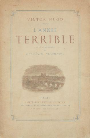 * HUGO (Victor). L'année terrible. Illustrations de Léopold Flameng. Paris, Michel...