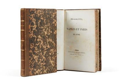 * LATOUCHE (Henri de). Fragoletta. Naples...