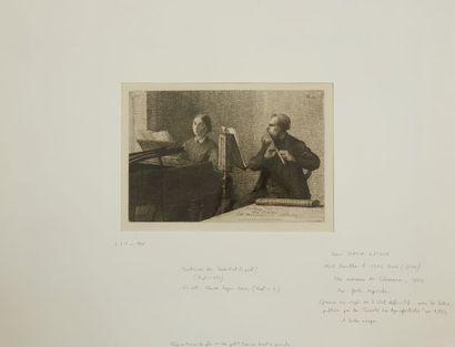 * Henri FANTIN -LATOUR (1836-1904)  Un morceau...