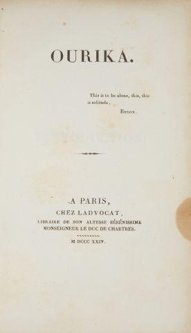 * DURAS (Claire de Kersaint, Duchesse de)....