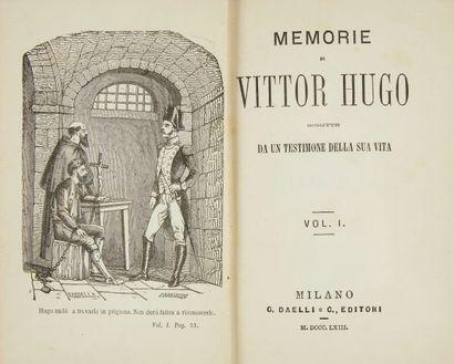 * SATTA (A.). MEMORIE di Vittor Hugo, Schritte...