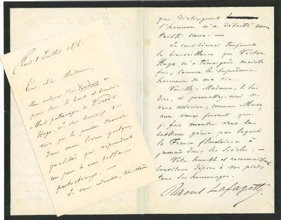 * Raoul LAFAGETTE (Foix 1842-1913) publiciste...