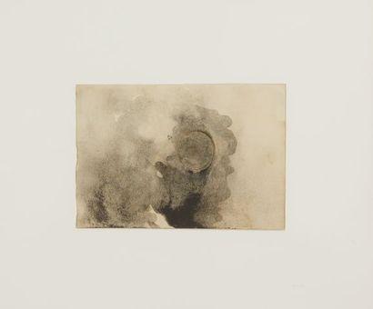 * Victor HUGO (1802-1885)  Nuées et soleil,...