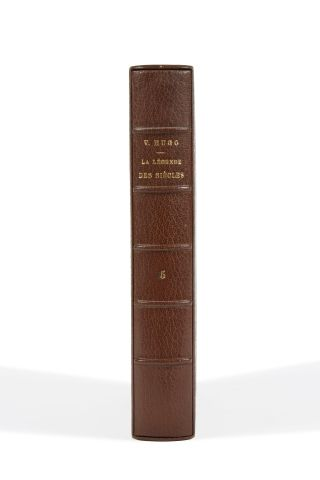 * HUGO (Victor). La légende des siècles. Paris, Calmann-Lévy, 1883, gd. In-8, br....