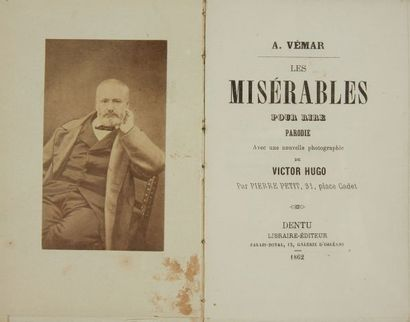 * VEMAR (A.). Les Misérables pour rire. Parodie...