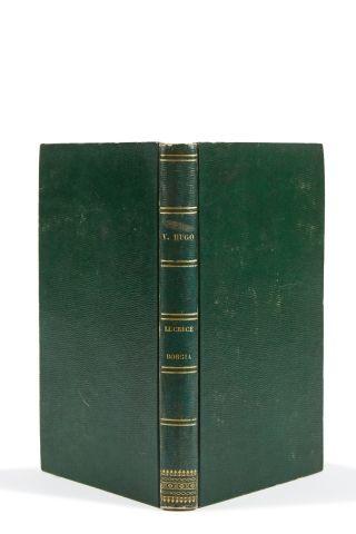* HUGO (Victor). Lucrèce Borgia. Deuxième édition. Paris, Renduel, 1833, in-8, XI...