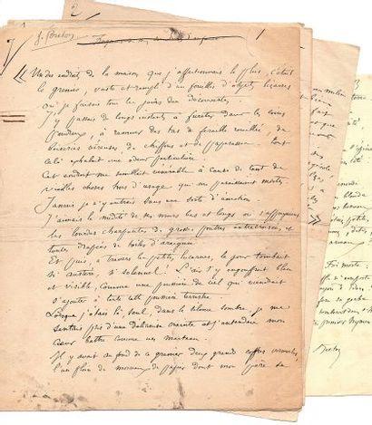 * Jules BRETON (1827-1906) peintre et poète....