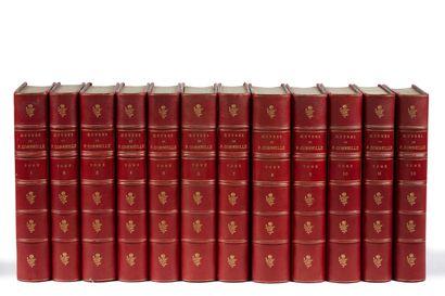 * CORNEILLE. Œuvres. Paris, Hachette, 1862,...