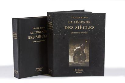 * HUGO (Victor). La légende des siècles. Paris, Mazenod, 2013, in-4, cart. édit...