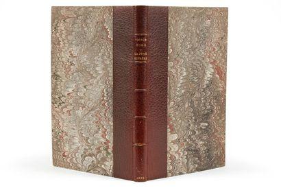 * HUGO (Victor). La pitié suprême. Paris, Calmann-Lévy, 1879, in-8, 142 pp. - 1...