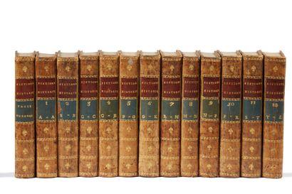 * CHAUDON DELANDINE. Nouveau dictionnaire...
