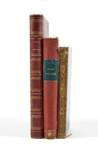 * HUGO (Victor). Les voix intérieures. Paris, Renduel, 1837, in-8, 320 pp., demi-rel....