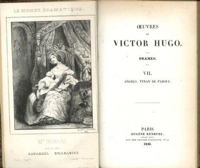 * HUGO (Victor). Angelo, tyran de Padoue...