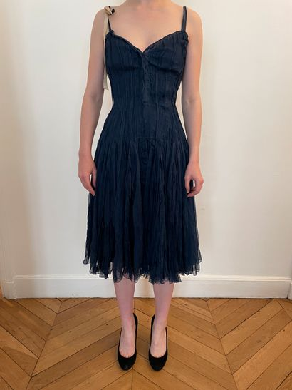 PRADA  Elégante robe de danseuse à corset...