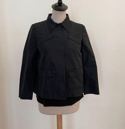 MIU MIU  Ensemble comprenant veste en satin...