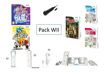 1 xPack Wii  Ce pack très complet permet...