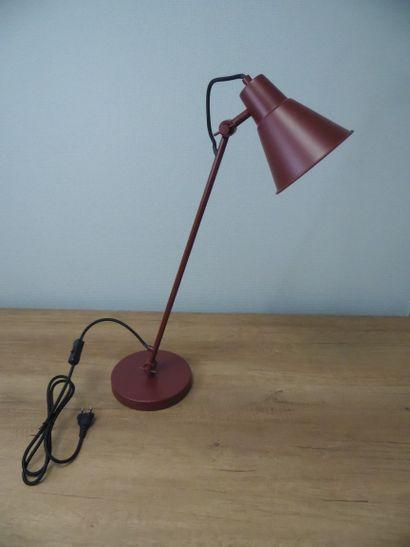 2 x Lampe à poser Rouge Sumac H65cm D18cm...