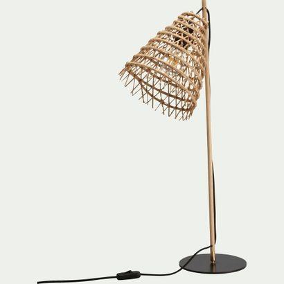1 x Lampe ORIA Fait main en fibre de palmier...