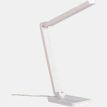 2 x Lampe à poser LED tactile blanche  Prix...