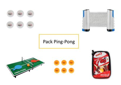 1 xPack Ping-Pong  Ce pack Ping-Pong est...