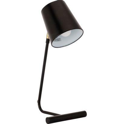 3 x Lampe à poser en métal noir H45cm L20cm...