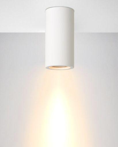 4 x Lampe Spot cylindrique à fixer au plafond...