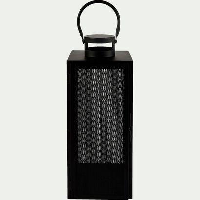6 x Lanterne en métal - noir - H40cm  Prix...